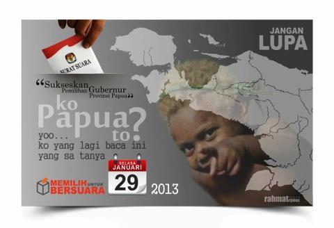 Iklan Pilgub Papua