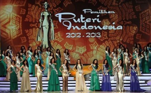 10 finalis Puteri Indonesia 2013