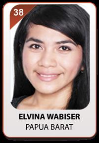 Kezia Elvina Wabiser dari Papua Barat