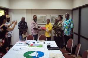 Pertemuan delegasi WPNCL, FLNKS dan MSG di Kanaky, New Caledonia (Dok. MSG/Jubi)