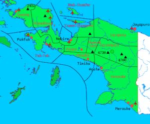senjata-peta papua