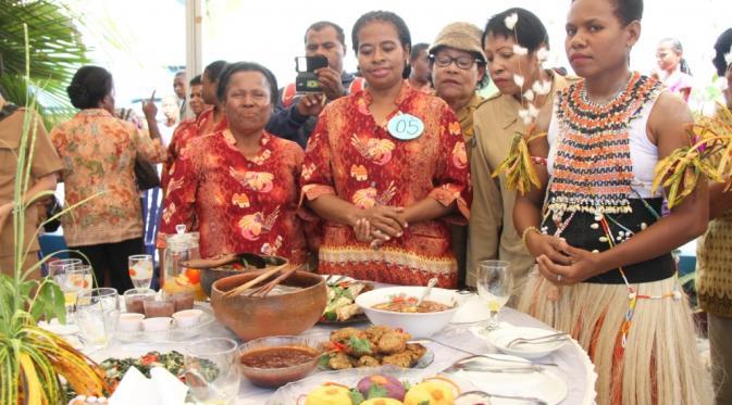 sekaligus mempromosikan wisata kuliner khas Papua (liputan6.com)