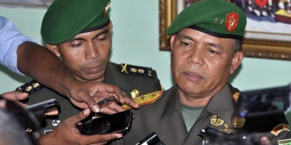 Panglima Komando Daerah Militer XVII Cenderawasih, Mayjen TNI Fransen Siahaan