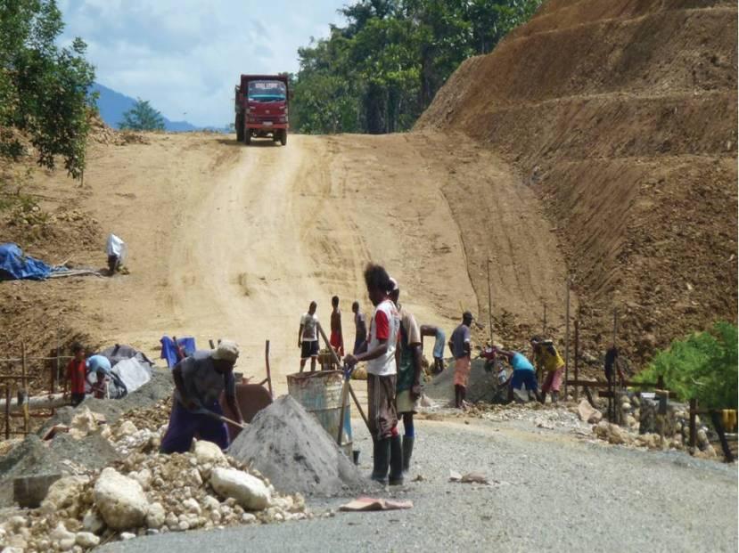 pembangunan jalan di papua