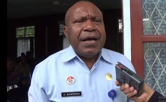 Kepala Kanwil Kemenkumham Provinsi Papua, Abner Banosro, SH, MH