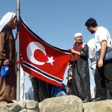 kibar bendera aceh di arab