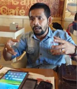 Jubir Partai Aceh Suadi Sulaiman (Adi Laweung)