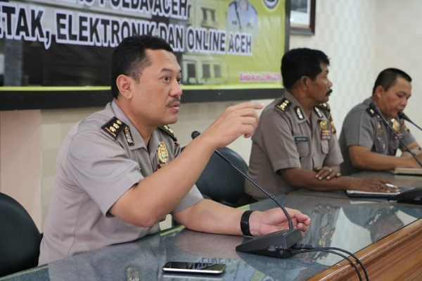 Kabid Humas Polda Aceh Kombes Goenawan