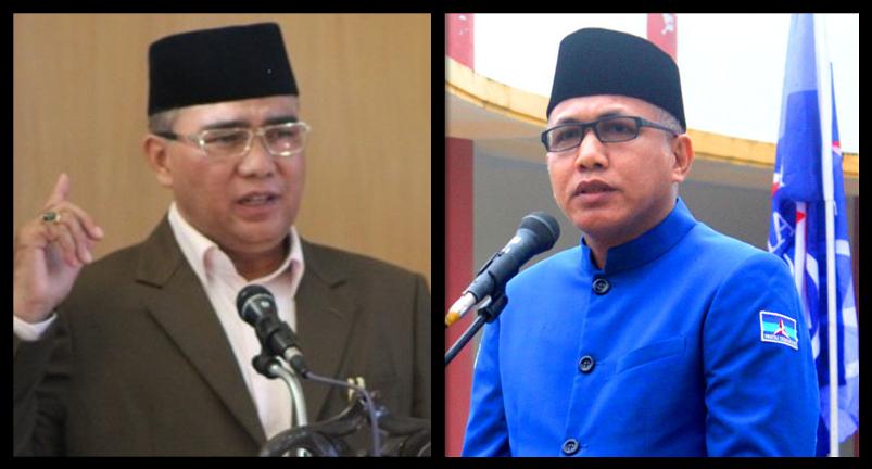 Bakal Calon Wakil Gubernur Aceh, Nasaruddin & Nova Iriansyah