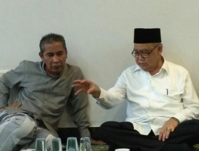 Cabub Bireuen Tu Sop didatangi oleh Cagub Aceh Abu Doto, Senin (28/11)
