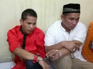 Muhammad Jhony dan Tgk M Jafar Daud diamankan di Polsek Tanah Jambo Aye