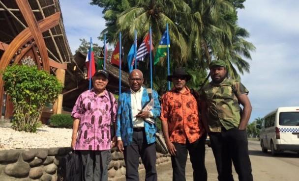 Delegasi ULMWP - Tabloid Wani