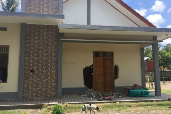 perusakan gereja di Ogan Hilir