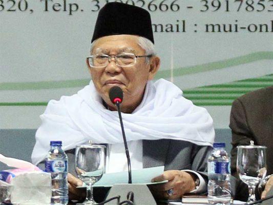 Ketua MUI K.H. Ma'ruf Amin