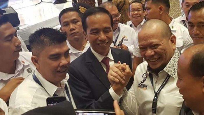 Lupakan Prabowo, La Nyalla Mendukung Jokowi-Ma'ruf